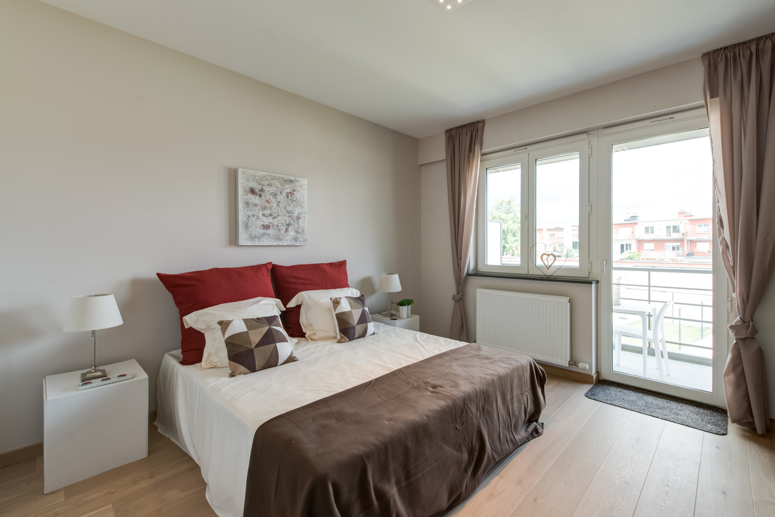 Slaapkamer makeover met blauwe muren maison belle interieuradvies